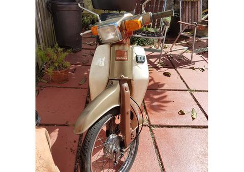 100 CC Suzuki Bike