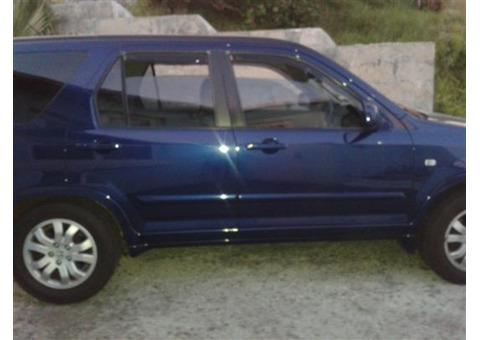 2005 DARK BLUE HONDA CRV
