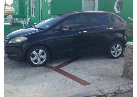Black Honda FRV