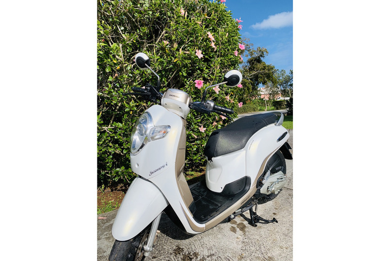 2018 Honda Scoopy 110cc Leaving Island Sale!
