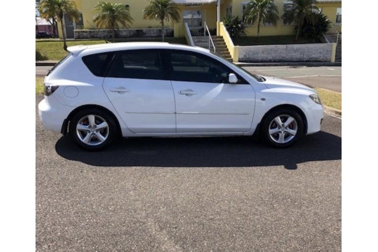 2008 White Mazda 3 SOLD